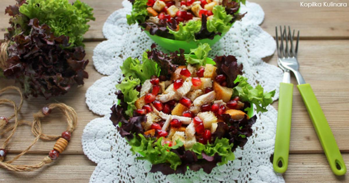 3 шикарных новогодних салата, в которых нет ни капли майонеза