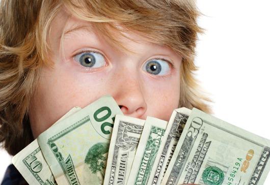 Вы хотите, чтобы ребенок научился ценить деньги?