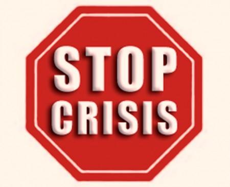 думаю, картинка кризису нет лезвие отлично подойдут