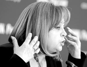 Памфилова заявила о желании дать «в морду» за оскорбление кавказских избирателей