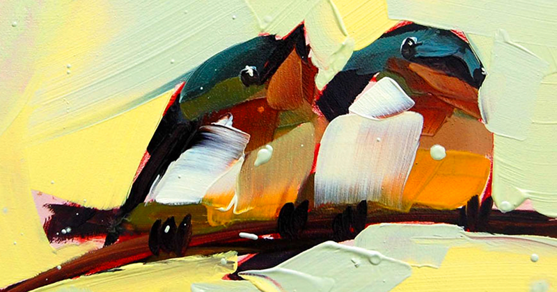 Райские птицы Анжелы Мултон