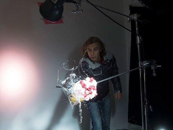 Как создаются фото-шедевры? Вся правда о постановочных фото в 25 примерах за кадром, кадры, неожиданно, постановка, постановочные фото, секреты, фото, фотограф