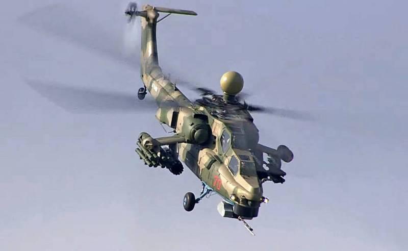 Обновленный Ми-28 сможет выполнять функции бомбардировщика Новости