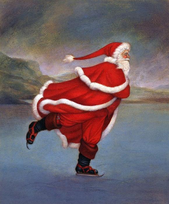 Кэрол Лоусон,Часть 2-я, Санта Клаус - подражание великим мастерам