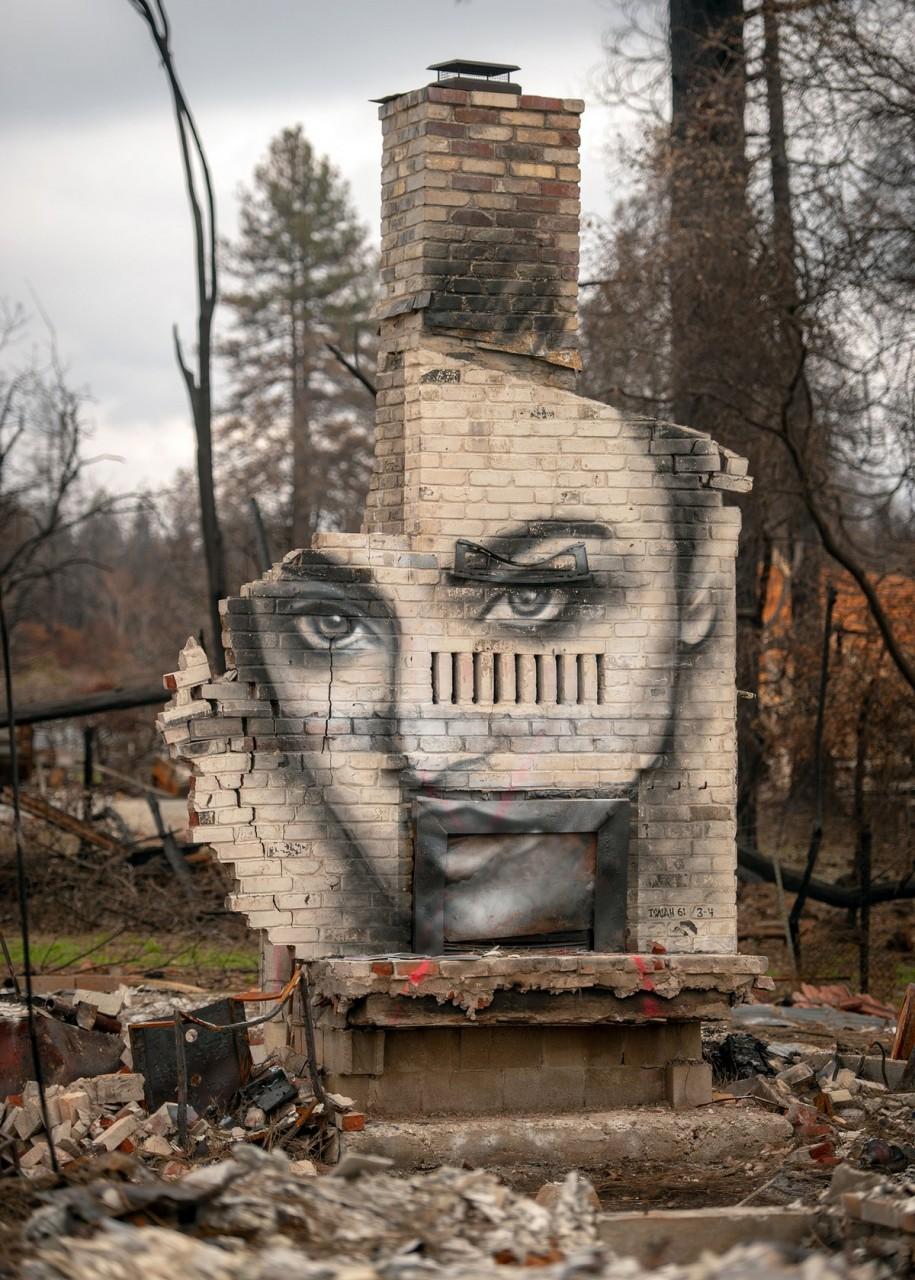 Восставшие из пепла: граффити в сожженном городе Парадайз