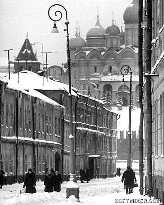 Зимняя Москва 1959 года