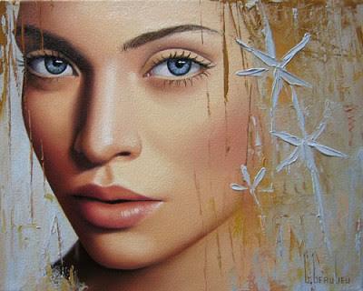 В поисках красоты, художница…