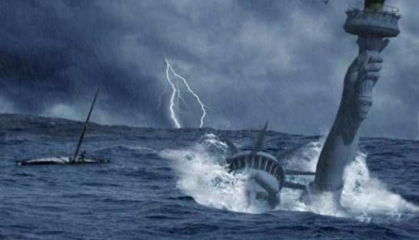 Умрут вкипящих водах среди руин!!! Предрекли ужасающую гибель США!!!