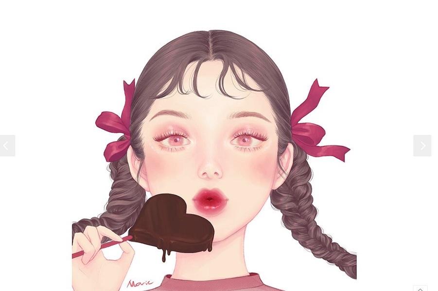 Иллюстрации 마리