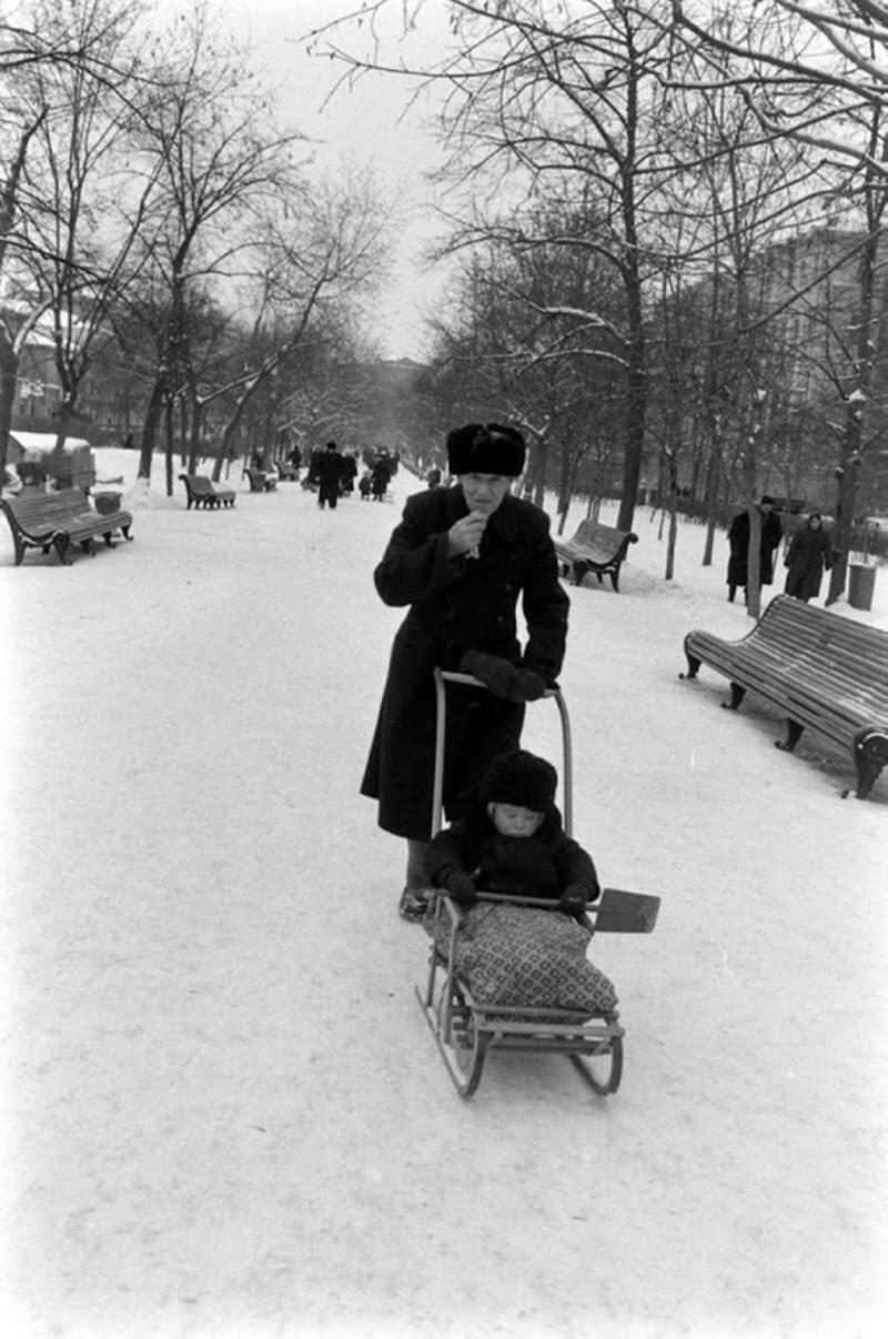 Картинки дети ссср зима