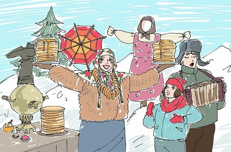 Масленица в мире, жизнь, иностранцы, люди, мнение, праздник, привычка, россия