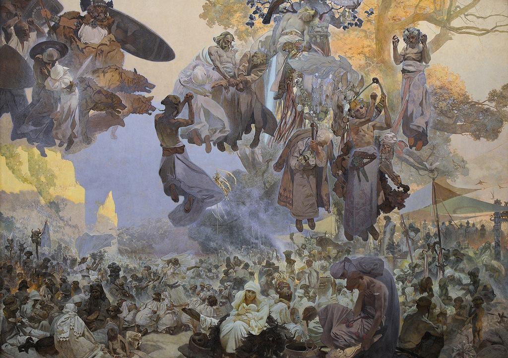альфонс муха картина славяне одни тот-же