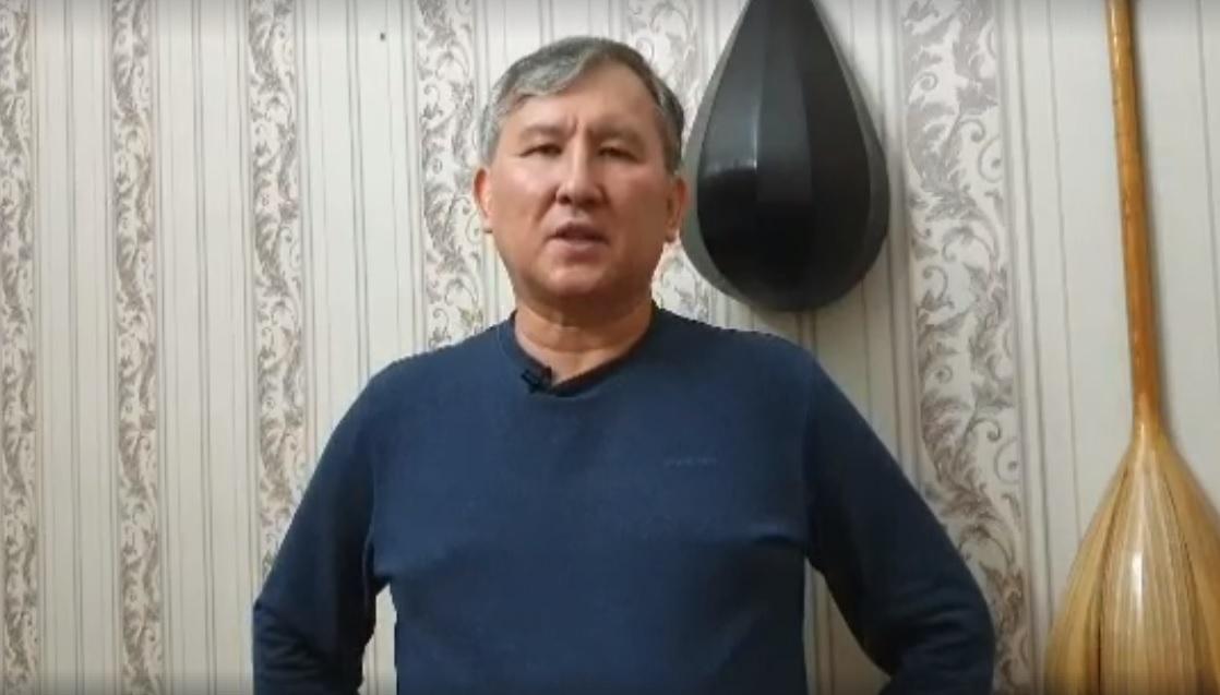 Лидер интернационалистов Казахстана Бахытжан Копбаев против нацизма
