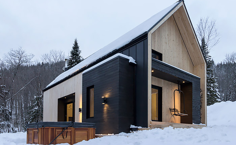 Очаровательная туристическая резиденция близ Квебека