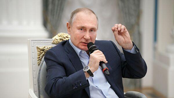 Путин рассказал о ходе вакцинации от коронавируса в России