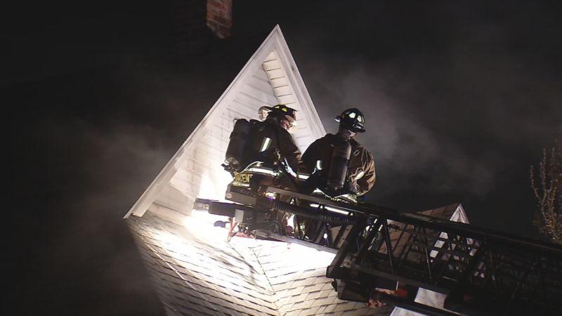 Американец спалил дом на две…