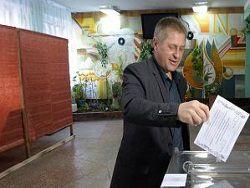 Как голосовал Славянск