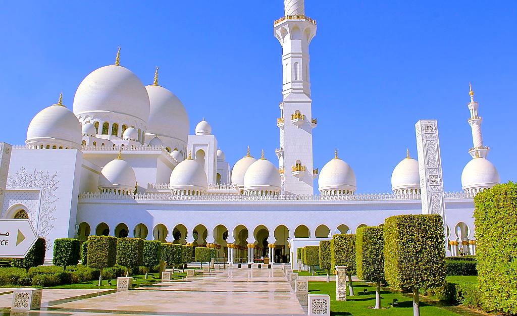 летом фото и название самой красивой мечети мира огороженная придомовая территория