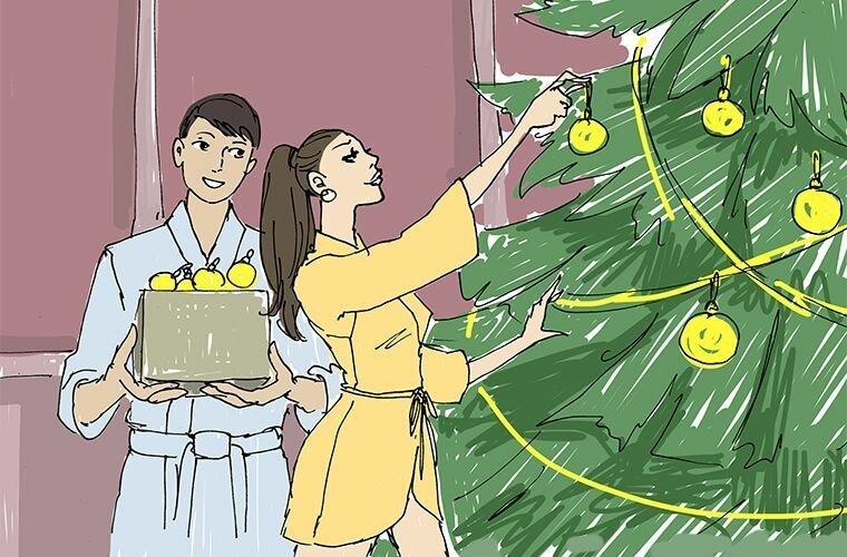 Рождество в мире, жизнь, иностранцы, люди, мнение, праздник, привычка, россия
