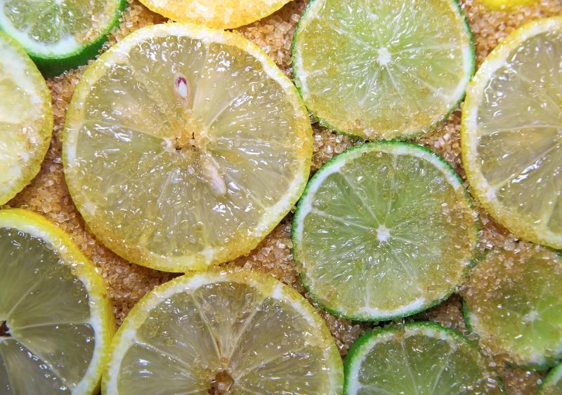 петрушка и лимон