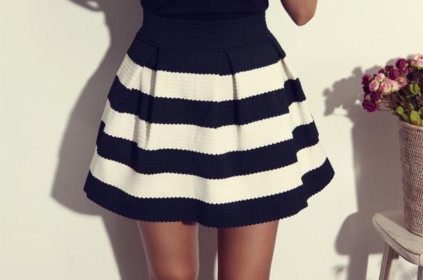 Сшить юбку со складками в школу