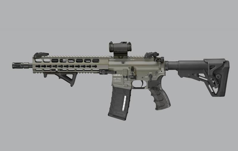 Бундесвер переходит на новый автомат оружие