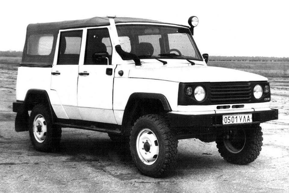 УАЗ-3170, который мог обойти…