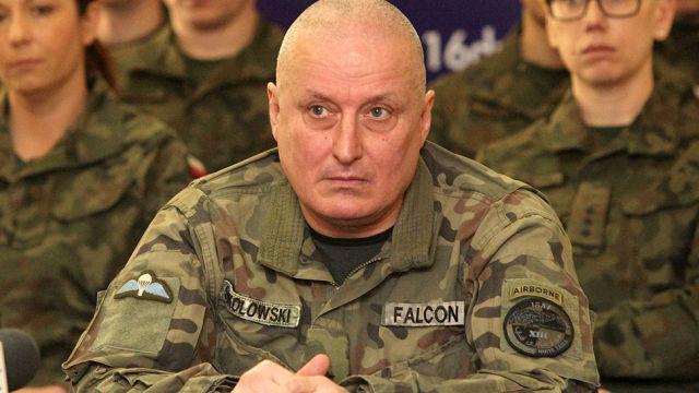 Польский генерал вызывает Пу…