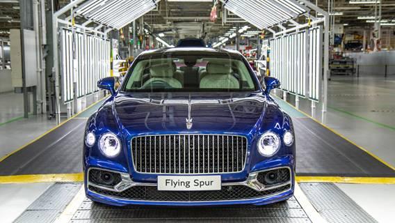 Bentley отозвала седан Flying Spur стоимостью $259 тыс.
