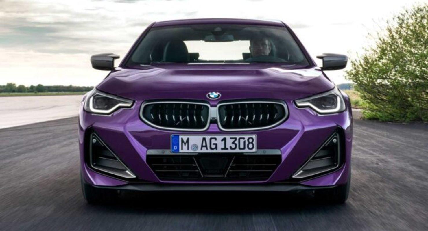 BMW представила купе 2-Series нового поколения Автомобили
