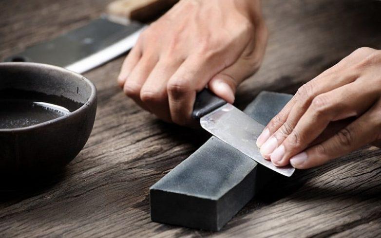 Как заточить ножи дома