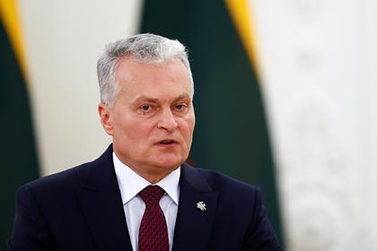 Литва выступила против перезагрузки отношений с Россией Бывший СССР