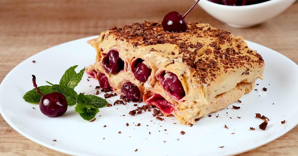 Торт «Монастырская изба» без выпечки десерты,торты
