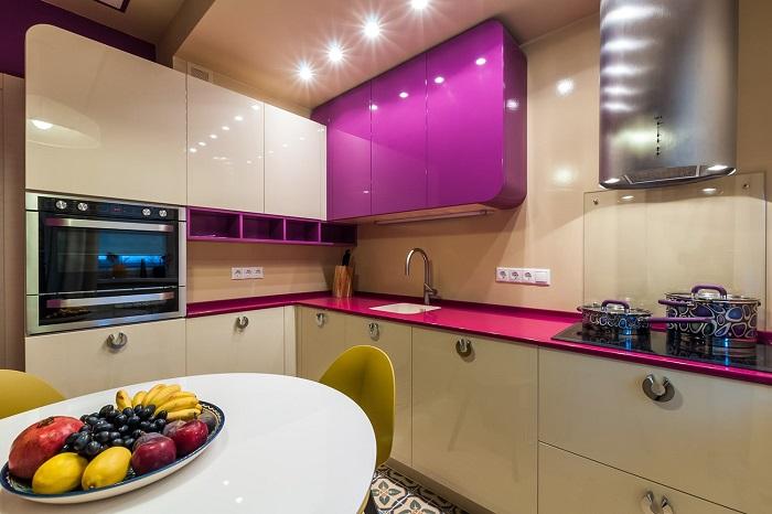 5 идей для дизайна кухни площадью 7 кв. м