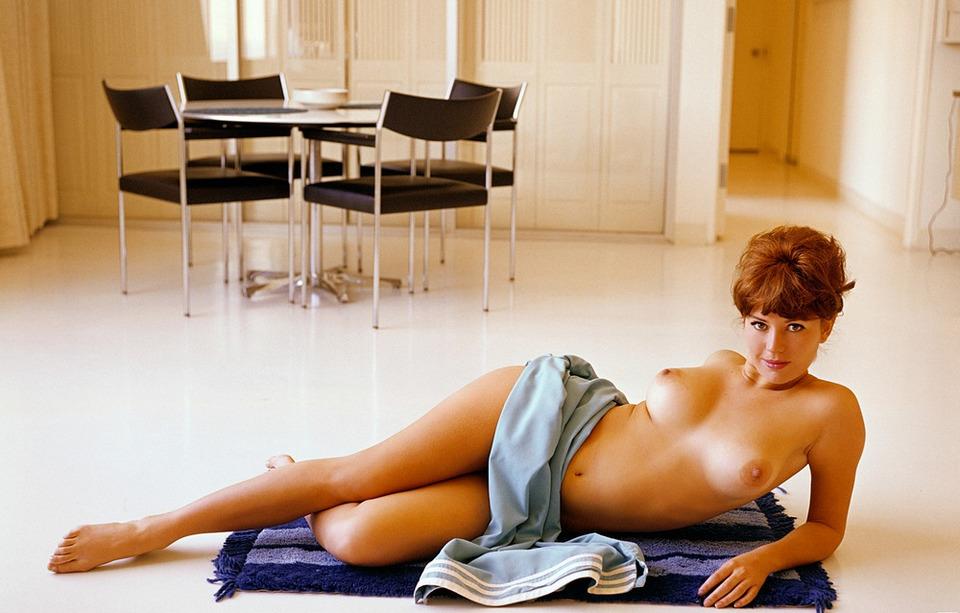 Страницами старого Playboy – первые красавицы середины прошлого века портрет