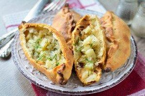 Татарские пирожки с картошкой - фото шаг 16