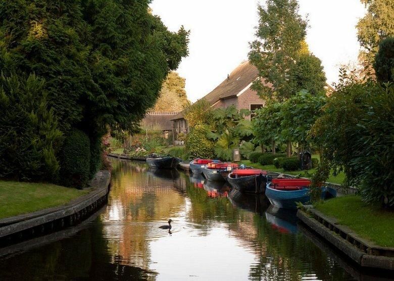 На «машине времени» - в райский уголок Нидерландов голландия, путешествие, туризм