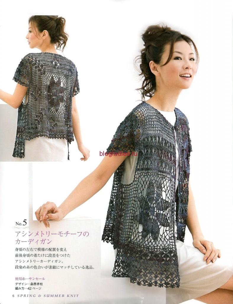 Летний жакет из японского журнала