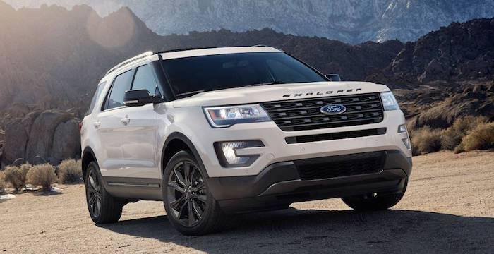 Продажи нового Ford Explorer…