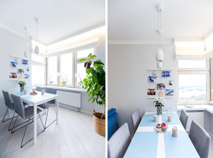 Скандинавская квартира 40 м² в Красногорске