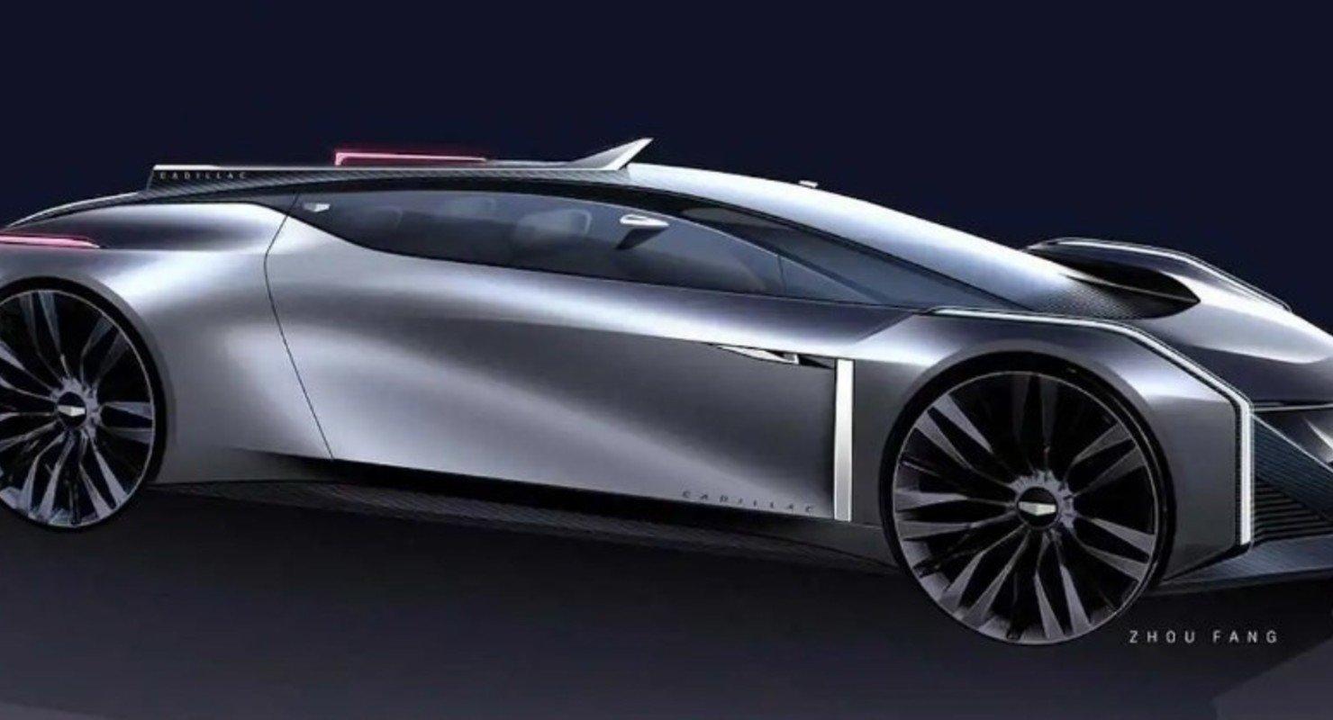 Дизайнер GM представил своё видение изящного купе Cadillac Автомобили