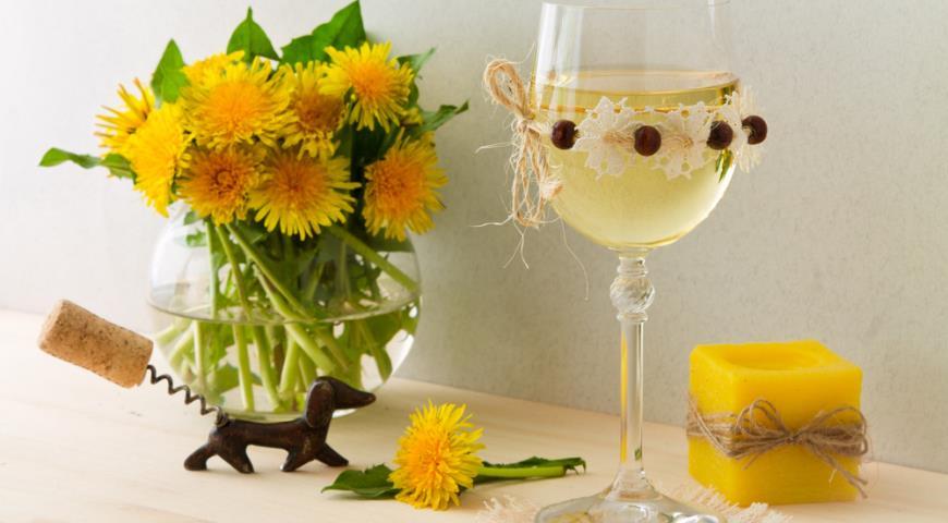 Вино из одуванчиков в домашних условиях домашнее вино,напитки