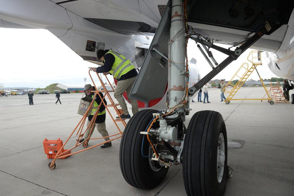 Неполадка шасси не дала улететь самолету из Сочи в Краснодар