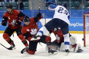 Сборная Канады по хоккею обыграла финнов в четвертьфинале Олимпиады