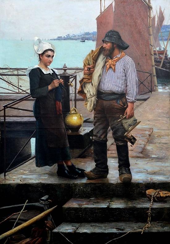 художник Альфред Гийу (Alfred Guillou) картины – 13