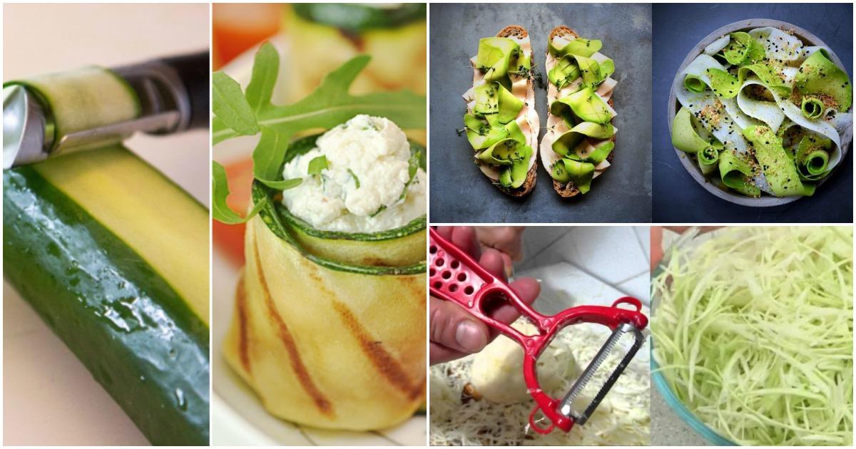 Секреты овощечистки: 12 вариантов использования, о которых вы даже не догадывались