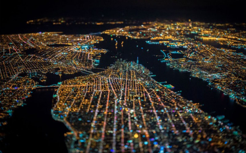 Фото ночного Сан-Франциско, откоторых захватывает дух интересное,путешествия,туризм,увлечения