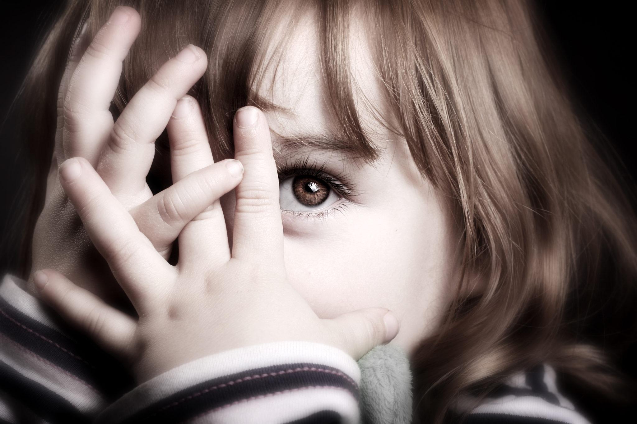 Картинки девочка и страх