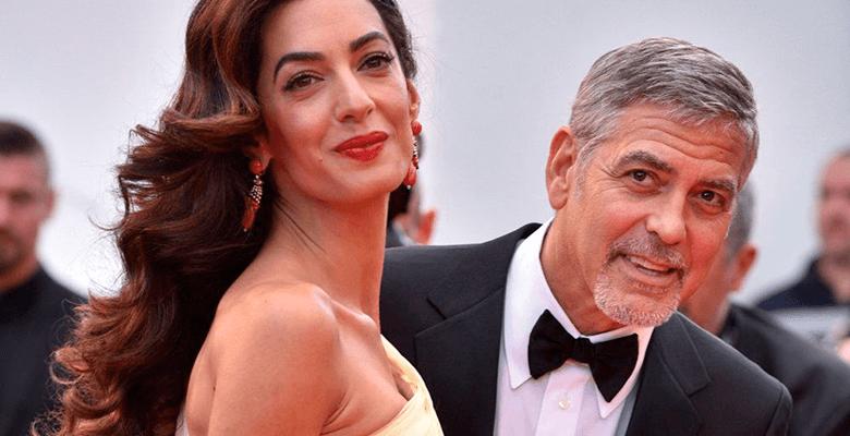 Джордж и Амаль Клуни отпразд…