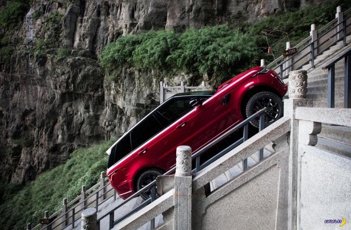 Мощный ход от Range Rover